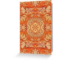 - Golden pattern - Greeting Card