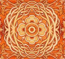 - Golden pattern - Sticker