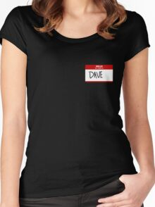 Name Tag  Women's Fitted Scoop T-Shirt