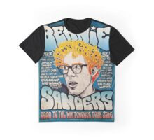 Bernie Sanders Cartoon Graphic T-Shirt
