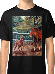"""Spring #3, Rebirth """"Dancing With Mamma"""" Classic T-Shirt"""