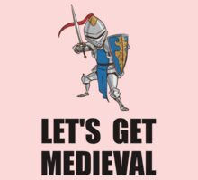 Let's Get Medieval Knight One Piece - Long Sleeve