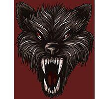 Angry werewolf Photographic Print