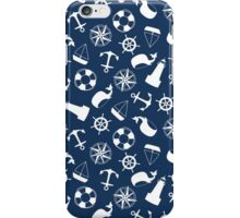 Nautical Navy iPhone Case/Skin