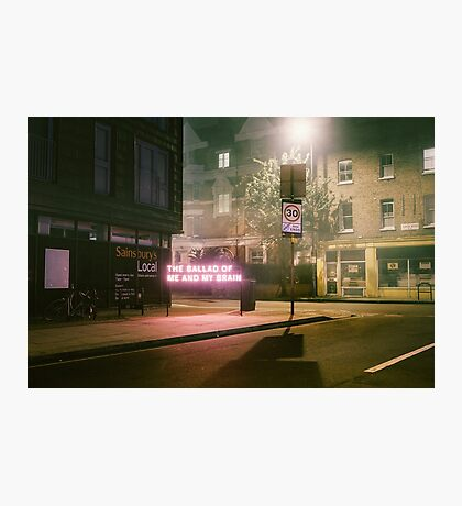 The Ballad Of Me And My Brain - The 1975 Photographic Print