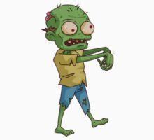 Zombie Cartoon One Piece - Long Sleeve