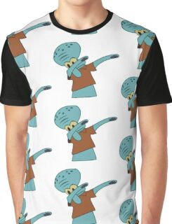 Squidward Dab Graphic T-Shirt