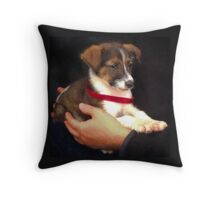 """Forever Home"" Throw Pillow"
