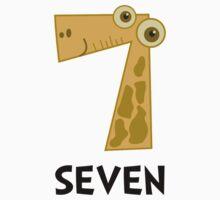 Number Seven Baby Tee