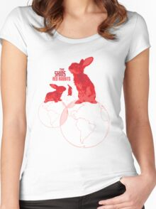The Shins Red Rabbits Women's Fitted Scoop T-Shirt