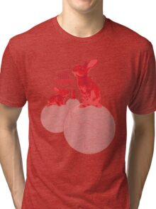 The Shins Red Rabbits Tri-blend T-Shirt