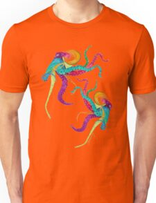 Dancing Octopuses (version 1) Unisex T-Shirt