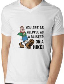 Blister On Hike Mens V-Neck T-Shirt