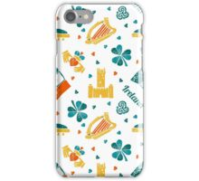 Irish Symbols pattern iPhone Case/Skin