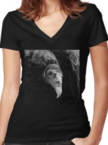 The beauty Women's Fitted V-Neck T-Shirt