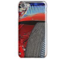 Boat tail red iPhone Case/Skin