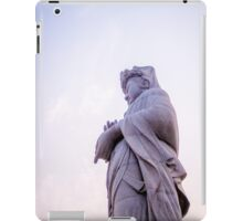 Serenity - Statue at a Buddhist Temple iPad Case/Skin