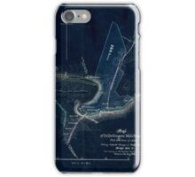 168 Map of Dr Dellingers mill property with 153 acres of land showing proposed changes of public roads bridge site c Inverted iPhone Case/Skin