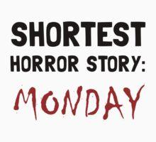 Horror Story Monday One Piece - Short Sleeve