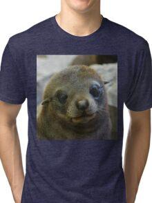 Fur seal Tri-blend T-Shirt