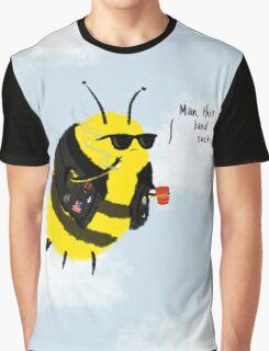 Festival Bees Graphic T-Shirt