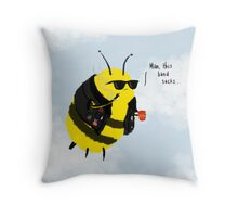 Festival Bees Throw Pillow