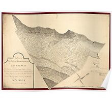 American Revolutionary War Era Maps 1750-1786 202 A plan of that part of the Rosalij Estate call'd the Retreat the property of His Excellency Charles O'Harra Poster