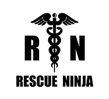 Rescue Ninja Photographic Print
