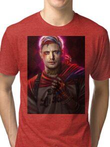 SpnAU - Daddy's Little Monster Tri-blend T-Shirt