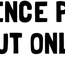 Science Puns Periodically Sticker