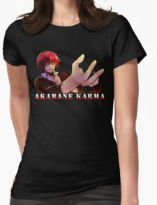 Akabane Karma Womens Fitted T-Shirt