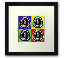 ODE TO WARHOL - CORTEX Framed Print