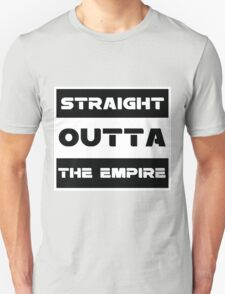 straight outta Unisex T-Shirt
