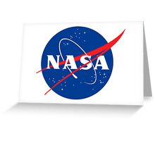 Nasa Logo Greeting Card