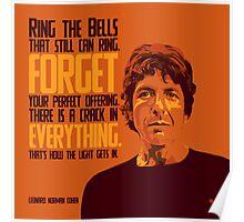 Leonard Norman Cohen Poster