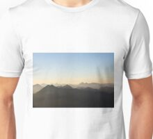 Mountains alps europe color photo Unisex T-Shirt