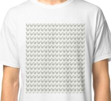 Squirrel Pattern (Pen-and-Wash-Effect) Classic T-Shirt