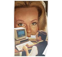 Computer Eyes Poster