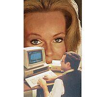 Computer Eyes Photographic Print