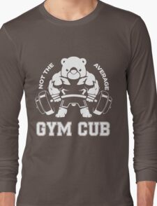 Not the average GYM CUB Long Sleeve T-Shirt