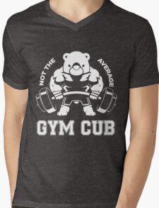 Not the average GYM CUB Mens V-Neck T-Shirt