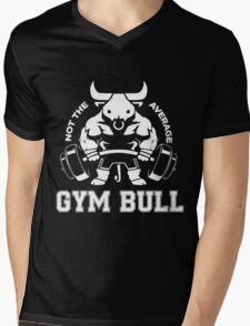 Not the average GYM BULL Mens V-Neck T-Shirt