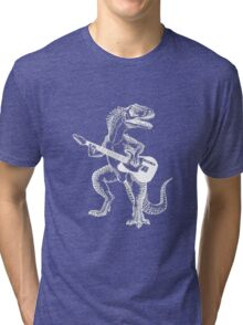 Dino the Guitar Hero Tri-blend T-Shirt