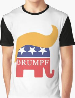 Drumpf 2016 GOP Elephant Hair  Graphic T-Shirt