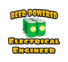 Beer Powered Electrical Engineer Photographic Print