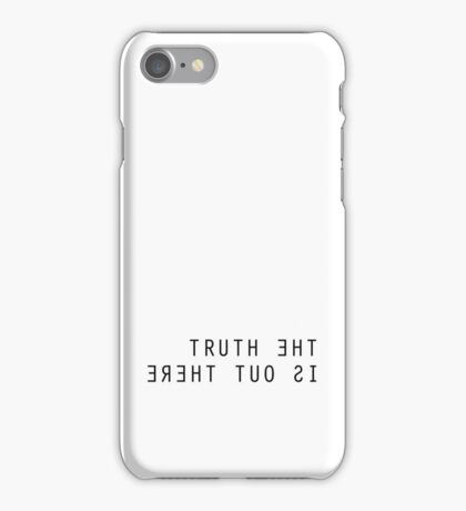 The X Files The Truth Is Out There iPhone Case/Skin
