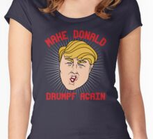 Make Donald Drumpf Again Women's Fitted Scoop T-Shirt