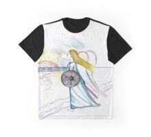 Pallas Athena as the Blue Ray Graphic T-Shirt