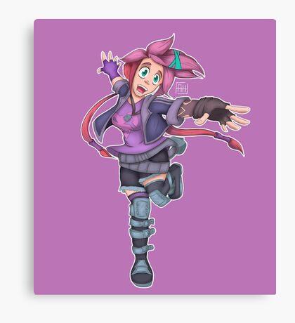 Jinx slayer Canvas Print