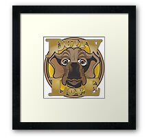 Puppy Love #2 Framed Print